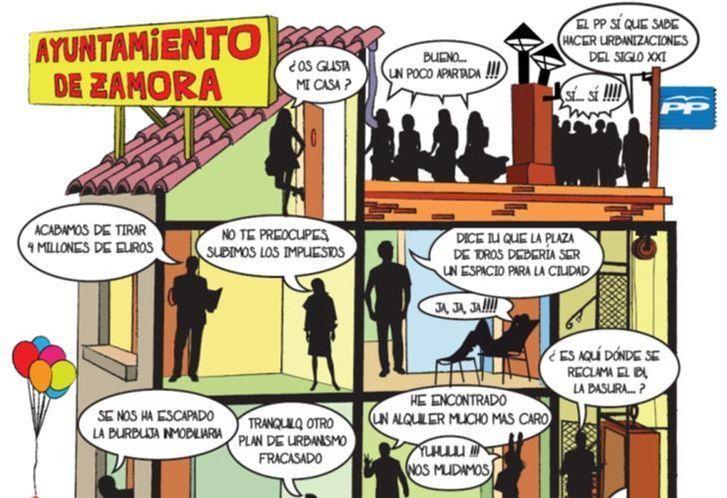 IU reparte en San Lázaro el periódico de balance de