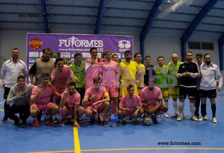 El Colchón Tolón, subcampeón del Torneo Interprovincial de fútsal