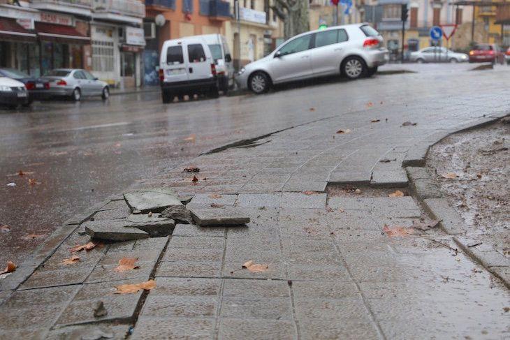 Guarido responde al PP con números: en 2014 hubo más caídas en la calle que en 2016