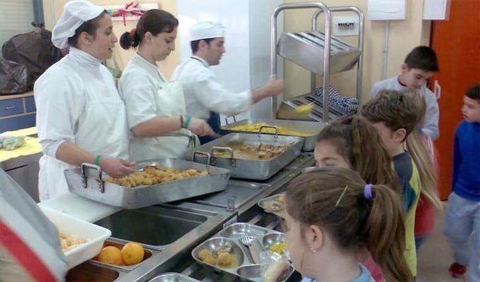 Las familias zamoranas valoran el servicio de comedor escolar con ...