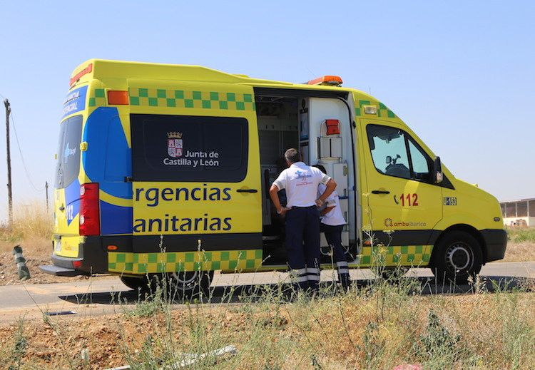 ​Herido un motorista en un accidente en la CL-605