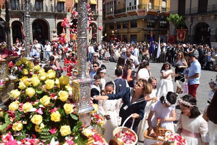 El Corpus Christi regresa este año a la Plaza Mayor