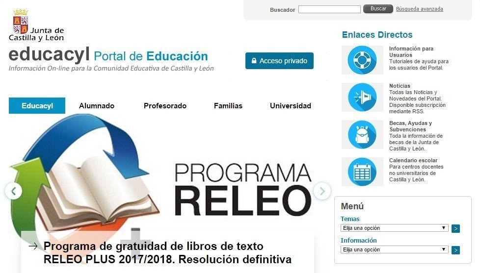 Calendario Educacyl.El Bilinguismo La Innovacion La Inclusion Y La Tecnologia Centran