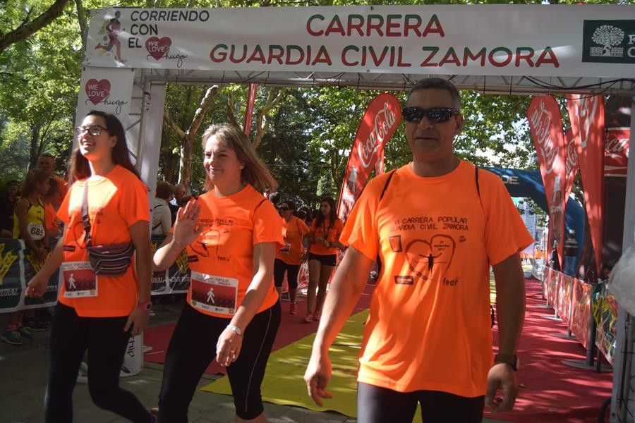 Tráfico condicionado este domingo por la disputa de la Carrera de la Guardia Civil