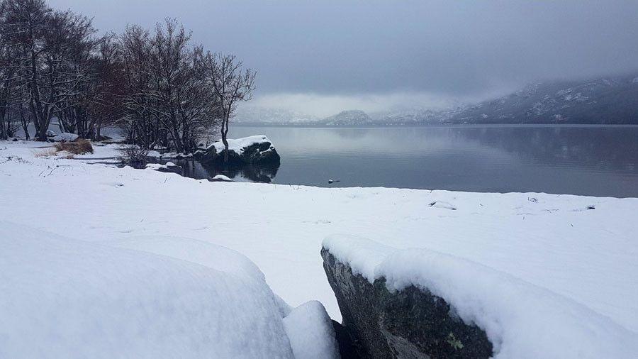 Lago sanabria nieve 04