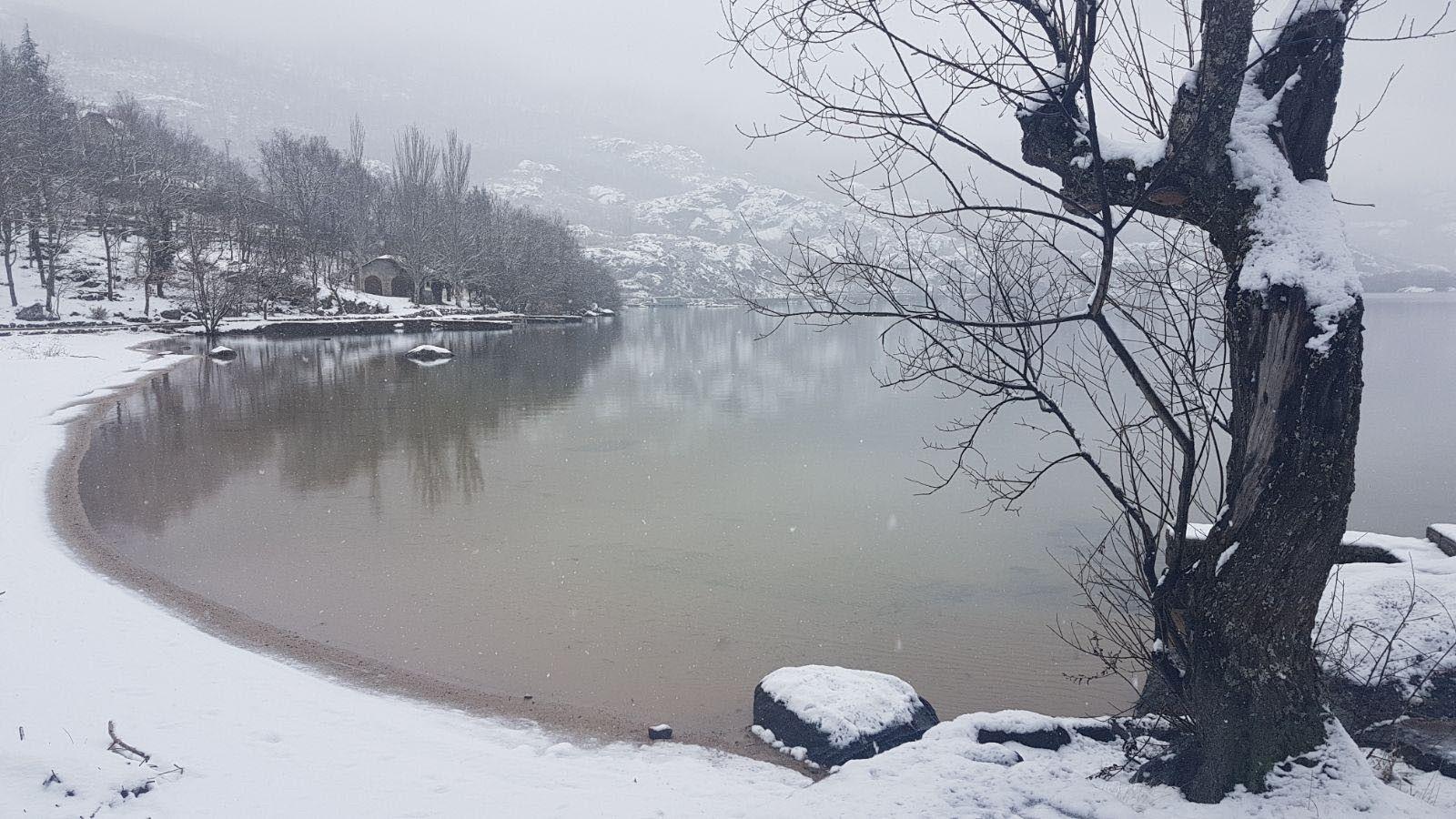 Lago sanabria nieve 01
