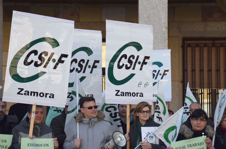 Csif manifestacion generica subdelegacion sindicatos