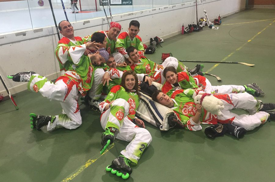 El Hockey Zamora senior consigue plaza en la