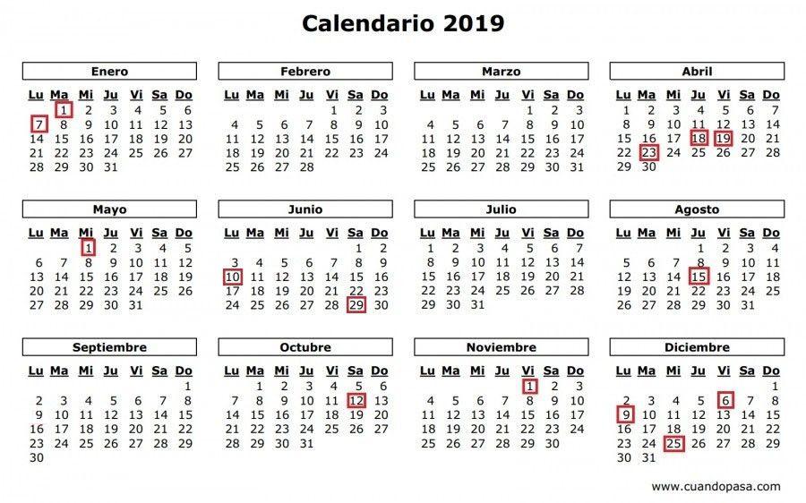 Boe Calendario.El Boe Publica El Calendario De Dias Inhabiles Para 2019
