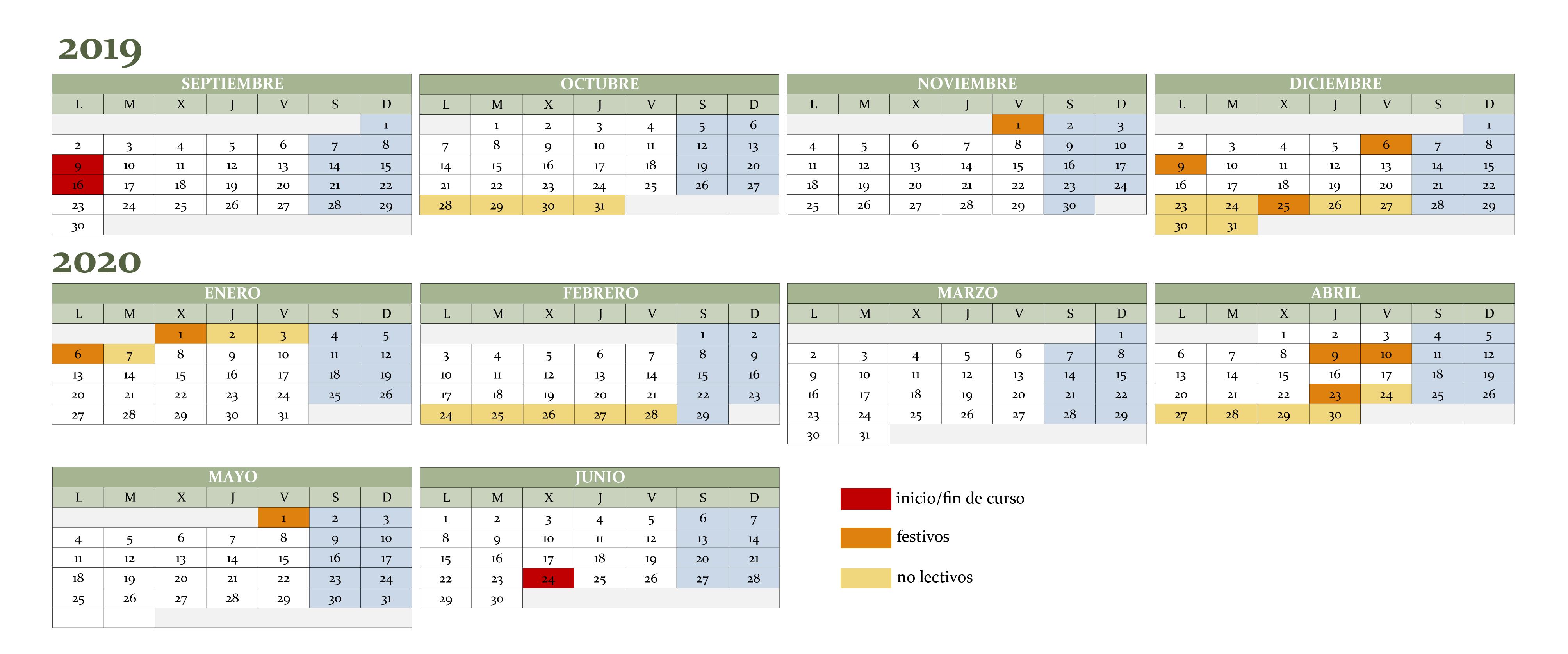 Calendario Escolar 2020 Cyl.El Sector De Ensenanza De Ugt Propone Un Calendario Escolar Basado