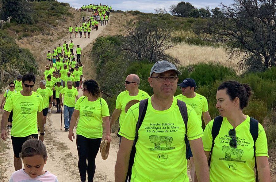 Villardiegua de la Ribera se vuelca con su I Marcha Solidaria