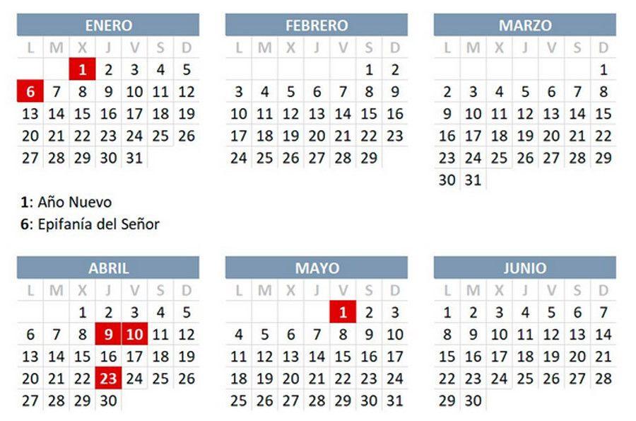 Ano 2020 Calendario.Calendario Laboral 2020 Consulta Todos Los Festivos