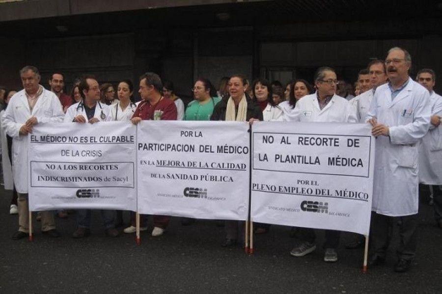 """CESM denunciará a la Consejería de Sanidad por """"actitud antisindical"""" por tomar decisiones laborales sin negociar"""