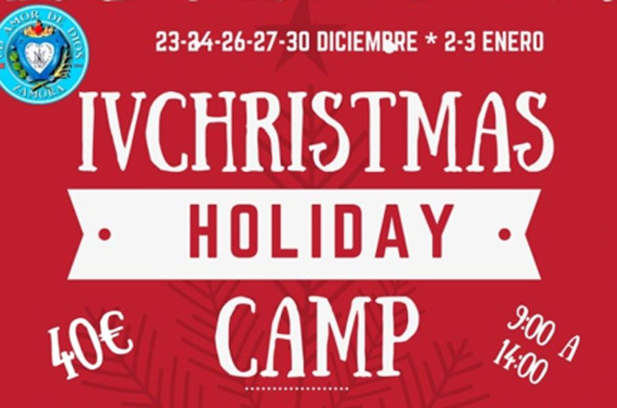 "El CD Amor de Dios organiza el Campus Infantil ""IV CHRISTMAS HOLIDAY CAMP"""