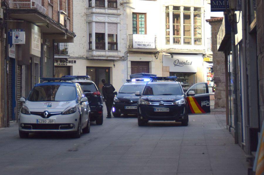 Coches policia santiago