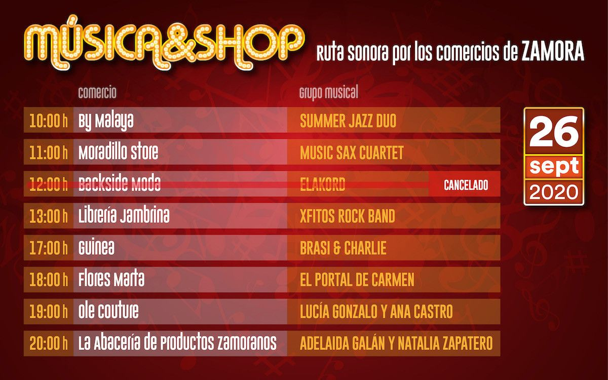 Programa Musica andshop