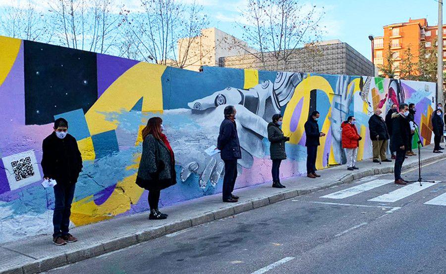 Foto muro acto