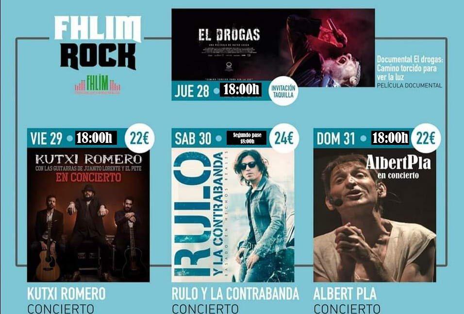 FHLIM Rock cambio de horarios