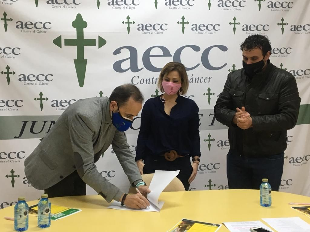 Prieto firma manifiesto contra el Cu00e1ncer