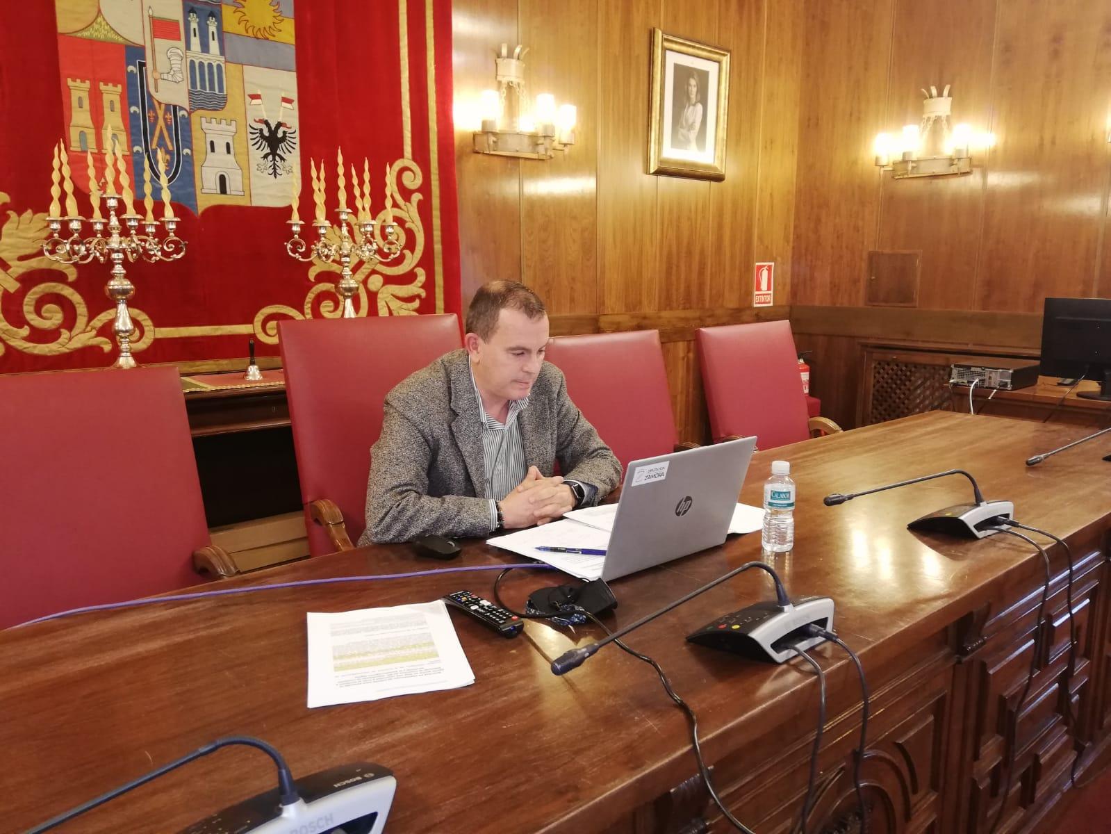 Francisco José Requejo, durante la rueda de prensa.